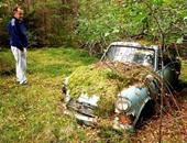 بعد مرور40 عاما عثر ريديتور ديليتريز على سيارته
