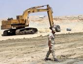 كتيبتى الطرق الخاصة بالقوات المسلحة قاربت على نهاية عملها بقناة السويس