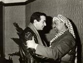 ياسر عرفات ونور الشريف