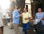 العميدان عماد عبد الفتاح ومحمد الصادق فى الحملة