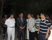المحافظ ومدير الأمن وقيادات مطروح فى وداع الحجاج