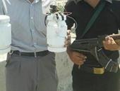 خبراء المفرقعات يبطلون مفعول قنبلتين عثر عليهما بالوراق