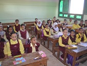 طلاب الأزهر داخل الفصول الدراسية