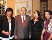 وزير الثقافة والدكتورة إيناس عبد الدايم