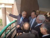 جانب من زيارة الوزير