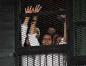 المتهمون فى أعمال عنف الإخوان خلال فض رابعة