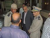 مدير أمن كفر الشيخ مع الضباط والأفراد
