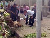 آثار تفجير محيط مبنى وزارة الخارجية أمس ـ أرشيفية