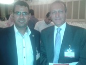 الدكتور علاء دياب مع الزميل عبد الحليم سالم