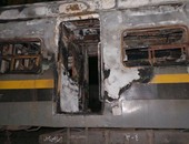 حريق فى قطار ـ أرشيفية
