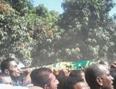 جانب من جنازة عبد الرحيم الغول