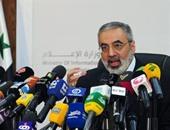 عمران الزغبى وزير الإعلام السورى
