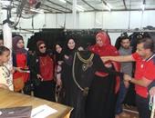 أمينة المرأة بمجلس القبائل العربية فى زيارة للشرقية