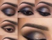 ماكياج عيون مذهلة