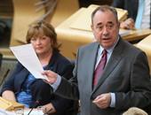 الكس سالموند الوزير الأول فى اسكتلندا