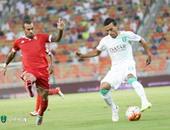 محمد عبد الشافى لاعب الأهلى السعودى
