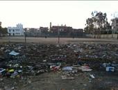 جانب من انتشار القمامة