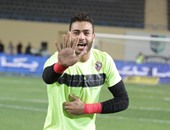 محمد أبو جبل حارس مرمى الزمالك السابق وسموحة الحالى
