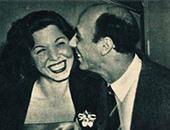 هنرى بركات وسامية جمال