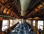 حريق قطار - أرشيفية