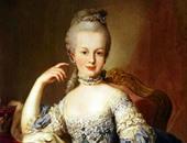 مارى انطوانيت زوجة الملك لويس السادس عشر
