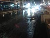 انتشار مياه الصرف الصحى بشوارع بلطيم