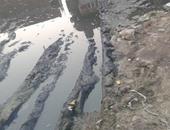 الصرف الصحى بقرية بلاى