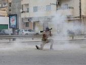 جانب من الاشتباكات فى ليبيا