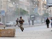 جانب من أعمال العنف فى ليبيا