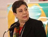 عضو اللجنة التنفيذية لمنظمة التحرير حنان عشراوى