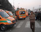 سيارات إسعاف – صورة أرشيفية