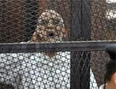 محمد بديع خلال المحاكمة