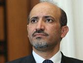 أحمد الجربا رئيس الإئتلاف الوطنى السورى المعارض