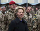اورسولا فون دير لين وزيرة الدفاع الالمانية