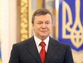 فيكتور يانكوفيتش رئيس أوكرانيا السابق