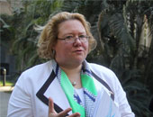 تولا اريولا سفيرة دولة فنلندا بالقاهرة