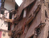 انهيار منزل قديم - أرشيفية