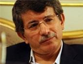 وزير الخارجية التركى أحمد داود أوغلو