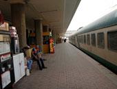 قطارات بمحطة مصر