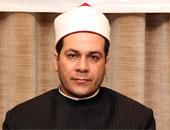 الشيخ مظهر شاهين إمام وخطيب مسجد عمر مكرم