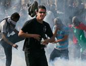"""مواجهات بين الفلسطينيين والاحتلال الإسرائيلى """"أرشيفية"""""""