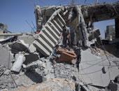 جانب من الأحداث فى غزة