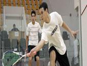 عمر عبد المجيد لاعب المنتخب الوطنى للإسكواش