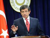 رئيس الوزراء التركى أحمد داود أوغلو