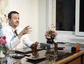 الدكتور حامد عبد الله أستاذ الأمراض الجلدية جامعة القاهرة