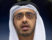 وزير الخارجية الإماراتى عبد الله بن زايد آل نهيان