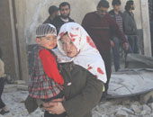 جانب الإصابات فى الحرب بسوريا