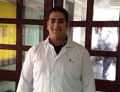 محمود سامى مدرب الإسعافات الأولية وطب الطوارئ بالهلال الأحمر