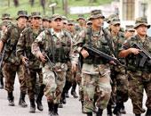 عناصر من الجيش الكولومبى - صورة أرشيفية
