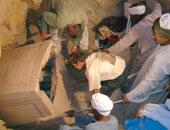 مقبرة فرعونية - صورة أرشيفية